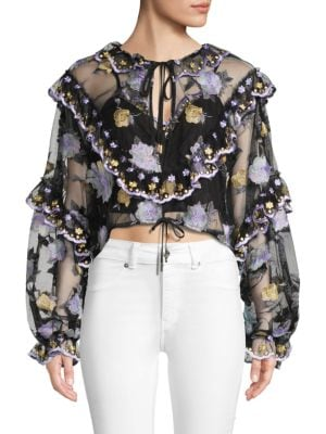 Alice Mccall Adorable Cropped Top