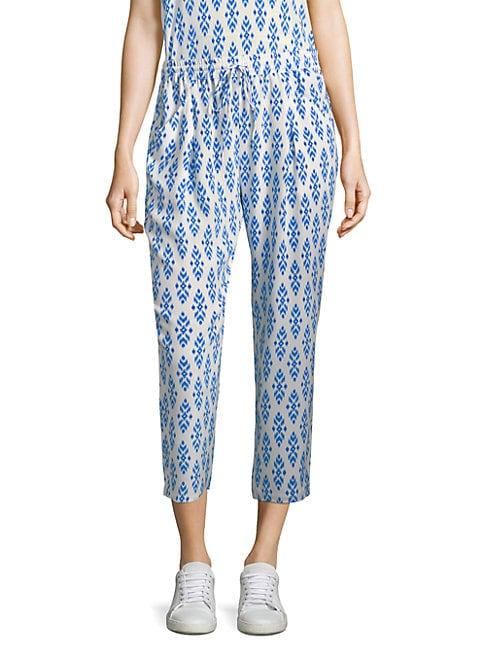 EQUIPMENT | Dilys Ikat Silk Pants | Goxip