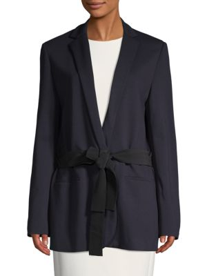 Dorothee Schumacher Strong Addition Tie-Waist Blazer