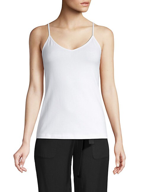 SAKS FIFTH AVENUE | Essential-Fit V-Neck Camisole | Goxip
