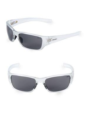 REVO 59Mm Wrap Sunglasses in Crystal