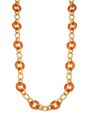 Kenneth Jay Lane Braided Link Necklace
