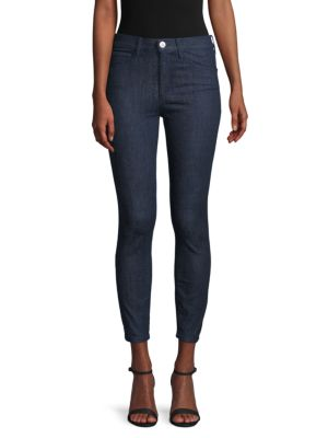 3x1 Cropped Skinny-Fit Jeans