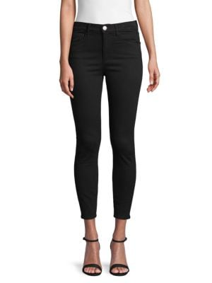 3x1 High-Rise Cropped Skinny Jeans