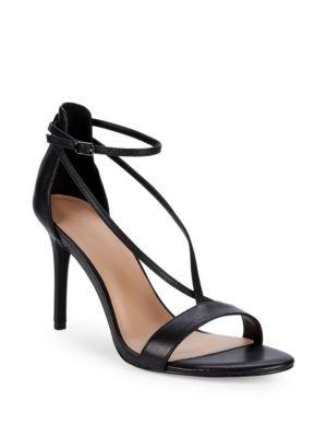 Halston Heritage Strappy Stiletto Sandals