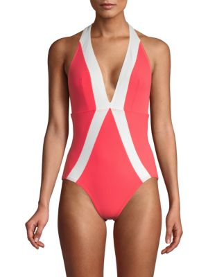 Flagpole Jade One-Piece Swimsuit