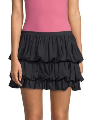 Chiara Boni La Petite Robe Skirts Sisal Tiered Mini Skirt