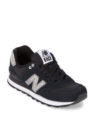New Balance 574 Suede Athletic Sneakers