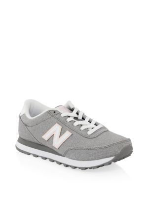 New Balance 501 Low-Top Lace-Up Sneakers