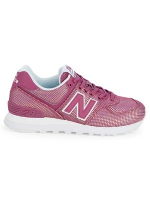 New Balance Perforated Low-Top Sneakers