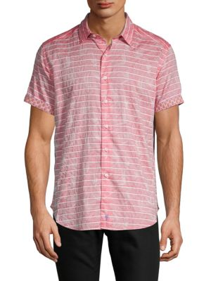 Robert Graham Machado Striped Button-Down Shirt