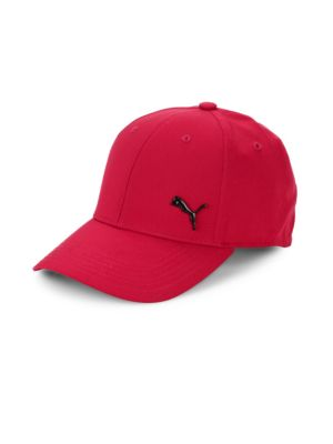 Puma Evercat Stretch-Fit Logo Cap In Red Black  adc042c195f1