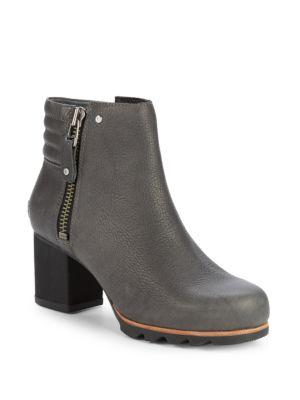 Sorel Danica Leather Booties