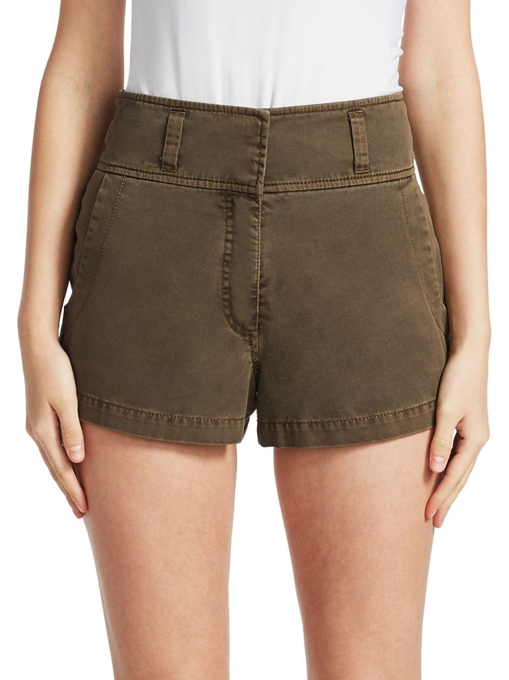 Cinq à Sept Tous Les Jours Shiloh Twill Shorts