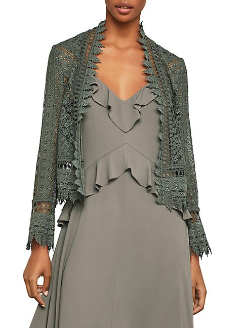 Sahara Desert Crop Lace Jacket
