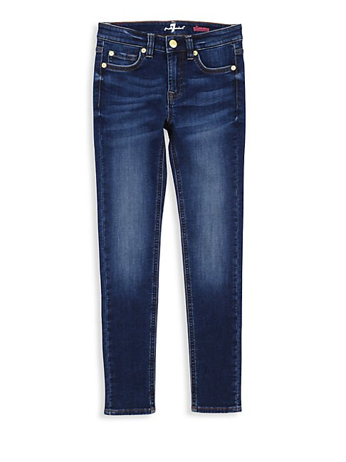 7 FOR ALL MANKIND | Little Girl's & Girl's Luxe Sport Skinny Jeans | Goxip