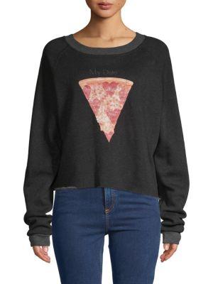 Wildfox My Date Raglan-Sleeve Sweatshirt