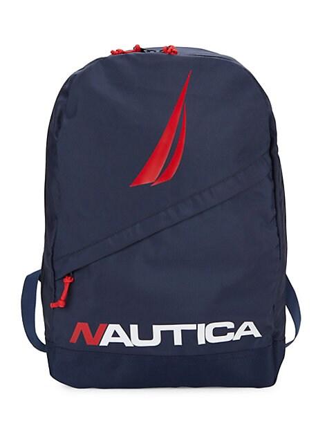 Diagonal Zip Backpack