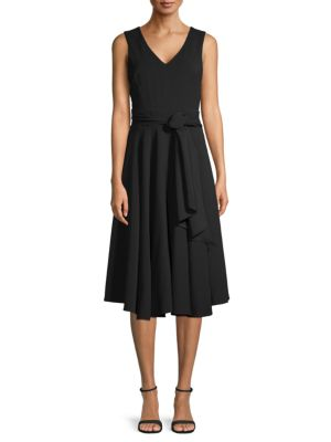 Sjp By Sarah Jessica Parker Tie-Back Fit-And-Flare Dress