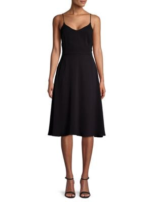 Sjp By Sarah Jessica Parker Scoopback Fit-And-Flare Dress