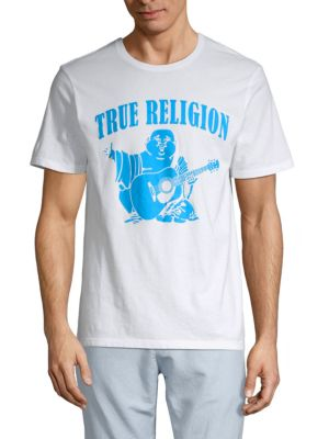 True Religion Cottons Graphic Cotton Tee