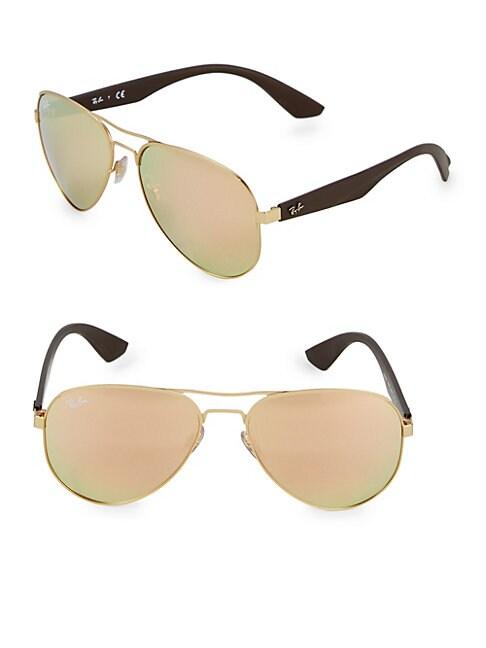 RAY-BAN | 59MM Aviator Sunglasses | Goxip