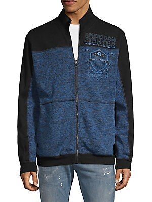 American Fighter by Affliction Rise And Thrive Jacket Grey