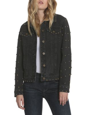 Driftwood Geena Embellished Denim Jacket