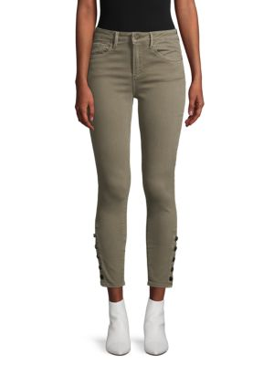 Driftwood Jackie Cropped Skinny-Fit Jeans