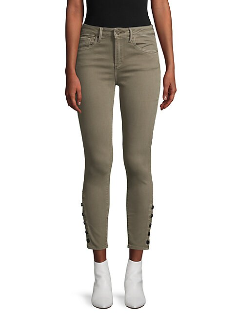 DRIFTWOOD   Jackie Cropped Skinny-Fit Jeans   Goxip