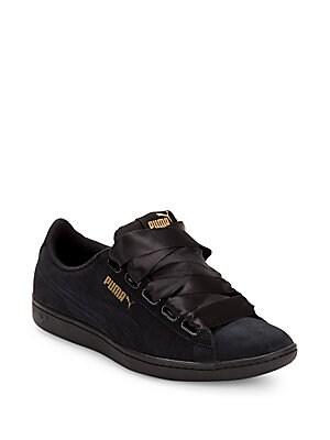 Metallic Leather Platform Sneakers by Valentino Garavani