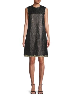 Tomas Maier Jacquard Shift Dress