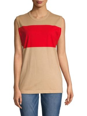 Tomas Maier Sleeveless Cotton Tee