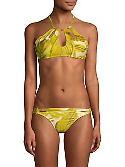 45b425a3ed0564 QUICK VIEW. Robin Piccone. Halterneck Bikini Top