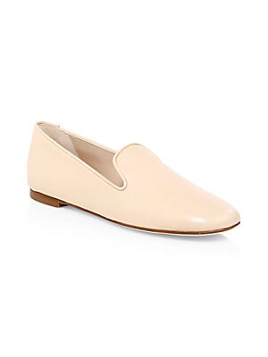 d6b418a2a800e7 Armani Collezioni - Point-Toe Suede Flats - saksoff5th.com