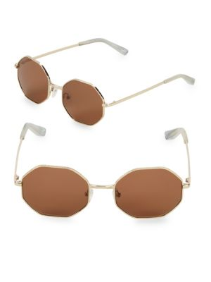 Elizabeth And James 53MM Hexagon Sunglasses