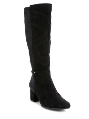 5dea1005fcb586 Circus By Sam Edelman Valerie Stretch Tall Boots In Black