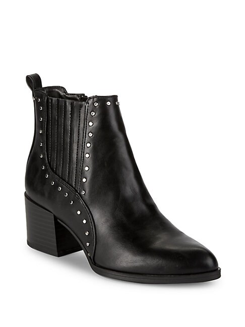 CIRCUS BY SAM EDELMAN | Jenna Studded Block Heel Booties | Goxip