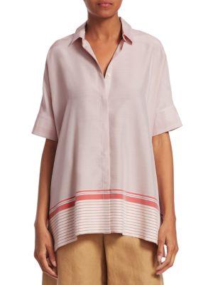 Loro Piana Camicie Ariane Martigues Stripe Shirt