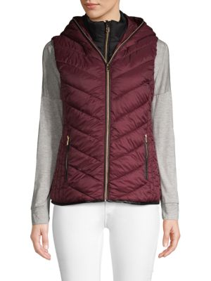 Marc New York Quilted Puffer Vest