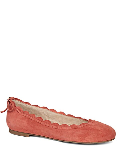 Jack Rogers Lucie Suede Flats