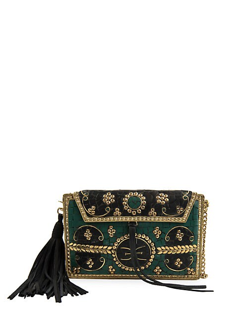 Sam Edelman Mohini Iron Deco Mosaic Handbag