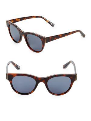 Elizabeth And James 50MM Square Sunglasses