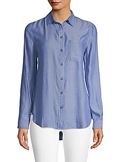 1e11bd43 Product image. QUICK VIEW. Beach Lunch Lounge. Striped Button-Down Shirt