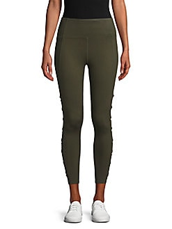 7ee75bfad QUICK VIEW. Betsey Johnson Performance. Side Cutout Leggings