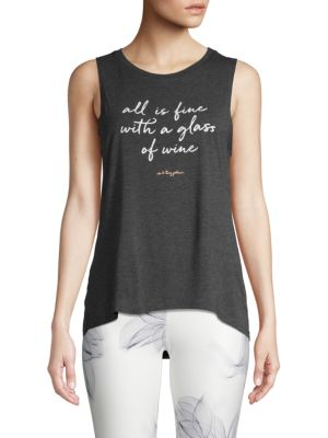 Betsey Johnson Graphic Tank Top