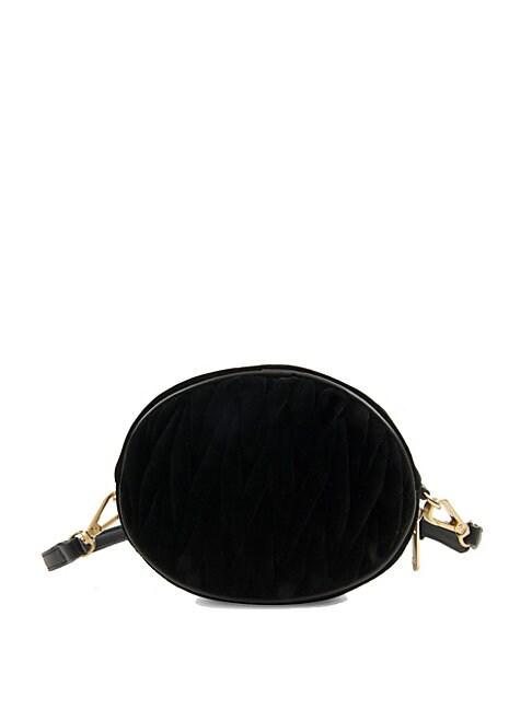 Sam Edelman Yanet Velvet Convertible Belt Bag