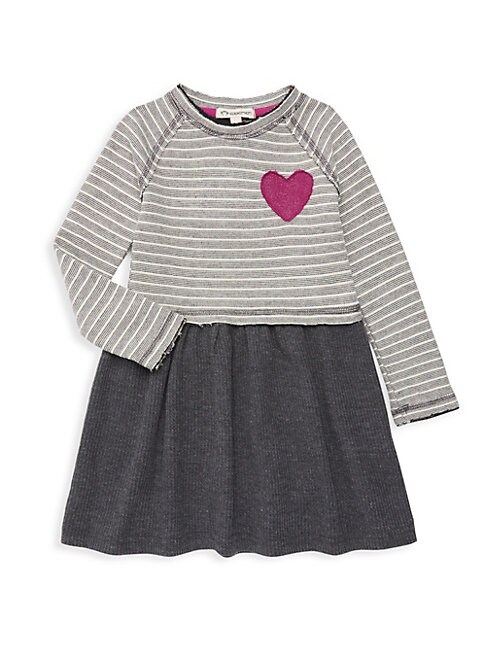 Little Girls  Girls Imogen Striped TShirt Dress