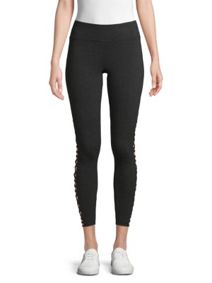 Betsey Johnson Cropped Knit Leggings