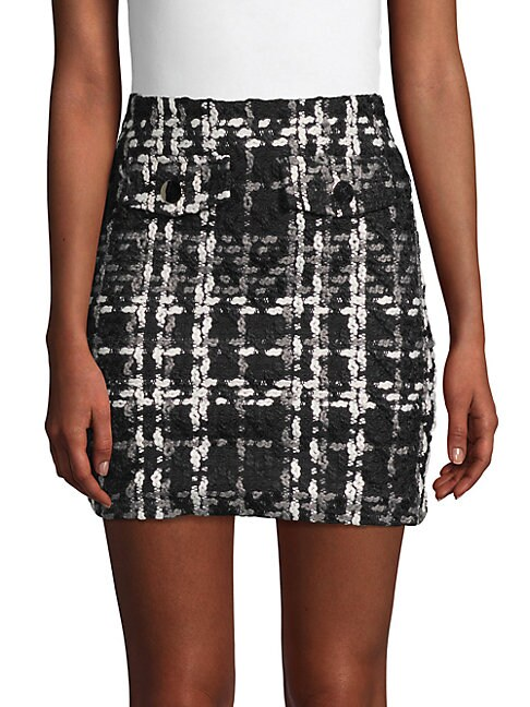 Layla Tweed Mini Skirt